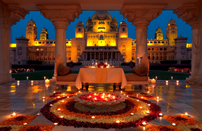 The Oberoi Udaivilas, Udaipur (Rajasthan)