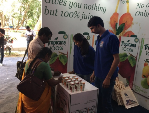 PepsiCo-brand-promotion-event-in-Banglore